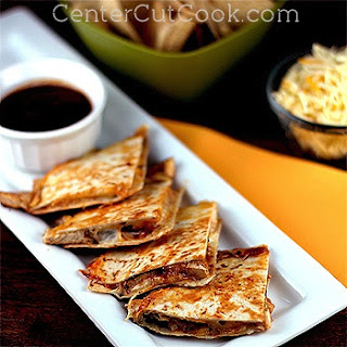 BBQ Ranch Chicken Quesadillas