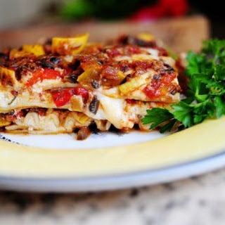 Veggie Lasagna With White Sauce Recipes
