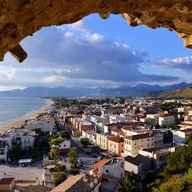 Sperlonga Italy by Giuseppe Ciaramaglia - City,  Street & Park  Historic Districts ( sea, sperlonga )