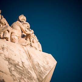 Padrão dos Descobrimentos  by Marcelo Nunes - Buildings & Architecture Statues & Monuments ( belém, monument, lisbon, portugal, padrão dos descobrimentos )