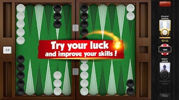 Screenshot of Backgammon Playgem