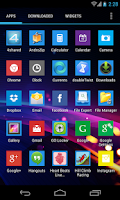 Screenshot of WP8 Theme