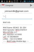 Screenshot of WellFinder