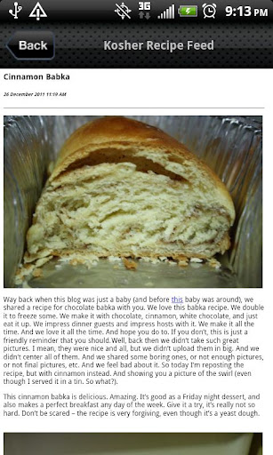 Kosher Recipe Feed