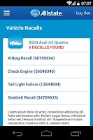 Screenshot of Allstate℠ Mobile