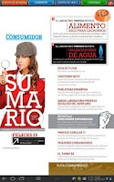 Screenshot of Revista del Consumidor