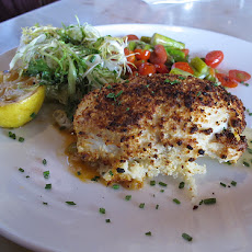 Vodka-Pepper Stuffed Sole