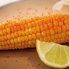 Corn on the Cob with Chile and Lime