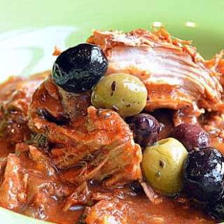 ~slow Cooked Garlic Onion Pork With Dates & Pineapple~