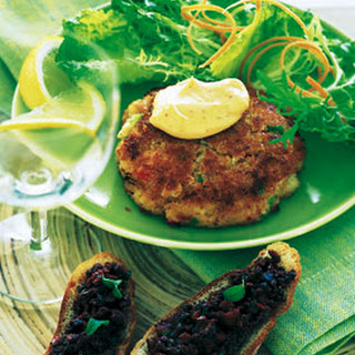 Crab Cakes with Red Chili Mayonnaise
