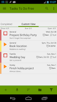 Screenshot of Tasks To Do Free, To-Do List