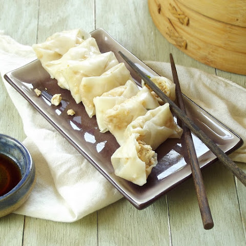 Steamed Tofu Pot Stickers