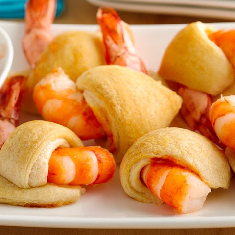 Sweet and Sour Crescent Shrimp Poppers