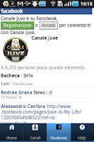 Screenshot of Canale Juve