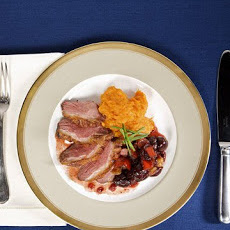 Duck Breast with Cherry Chutney