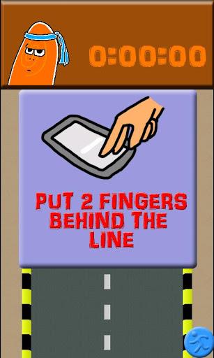 玩免費休閒APP|下載手指快跑(廣告) app不用錢|硬是要APP