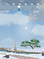 Screenshot of YoWindow Weather