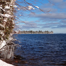 They Call Her Lake Superior! by Susan Rogala - Landscapes Waterscapes ( winter, superior, waterscape, lake )