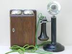 Candlestick Phones - WE 22 Candlestick Telephone Maxim MP