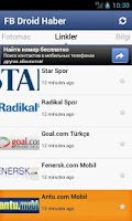 Screenshot of Fenerbahçe Droid Haber
