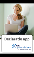 Screenshot of Agis Declaratie-app
