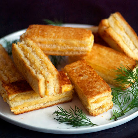 Crispy, Cheesy Party Sandwiches