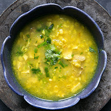 Turkey Soup with Lemon and Barley