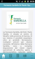 Screenshot of Farmacia Sardella