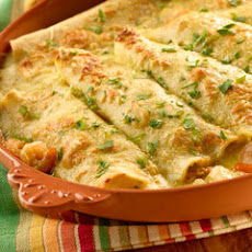Shrimp Enchiladas With Cream