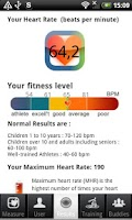 Screenshot of Heart Fitness