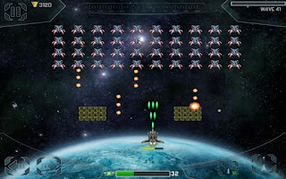 Screenshot of Space Cadet Defender Invaders