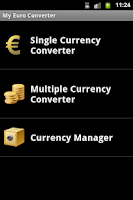 Screenshot of My Euro Converter