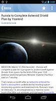 Screenshot of RIA Novosti
