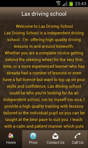 Lax driving school