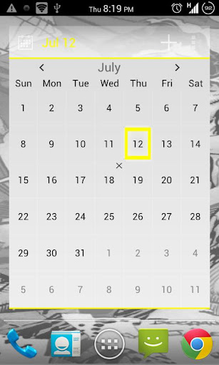 APW Yellow ICS Theme