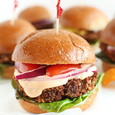 7 Ingredient Veggie Sliders