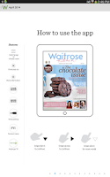 Screenshot of Waitrose Kitchen