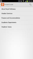 Screenshot of Royal Holloway CampusMe