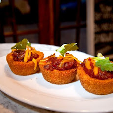 Chili and Cornbread Cups Recipe