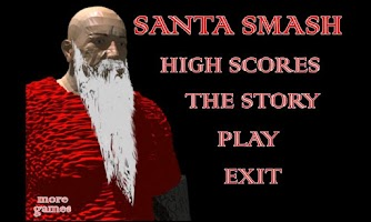 Screenshot of SANTA SMASH