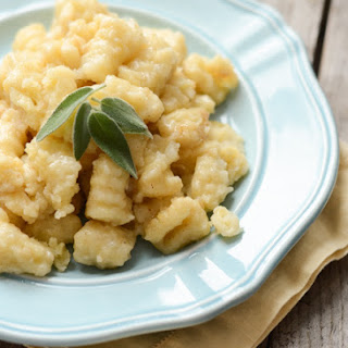 Gnocchi with Brown Butter and Sage