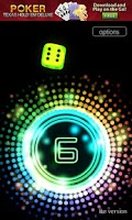 Screenshot of Neon Dice 3D Lite