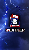 Screenshot of FOX 8 Weather Center