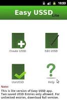 Screenshot of Easy USSD Lite