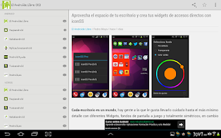 Screenshot of Notidroid - Noticias Android