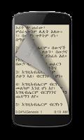 Screenshot of Amharic Bible