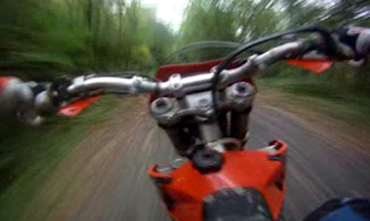 Screenshot of Motocross Forest LWP