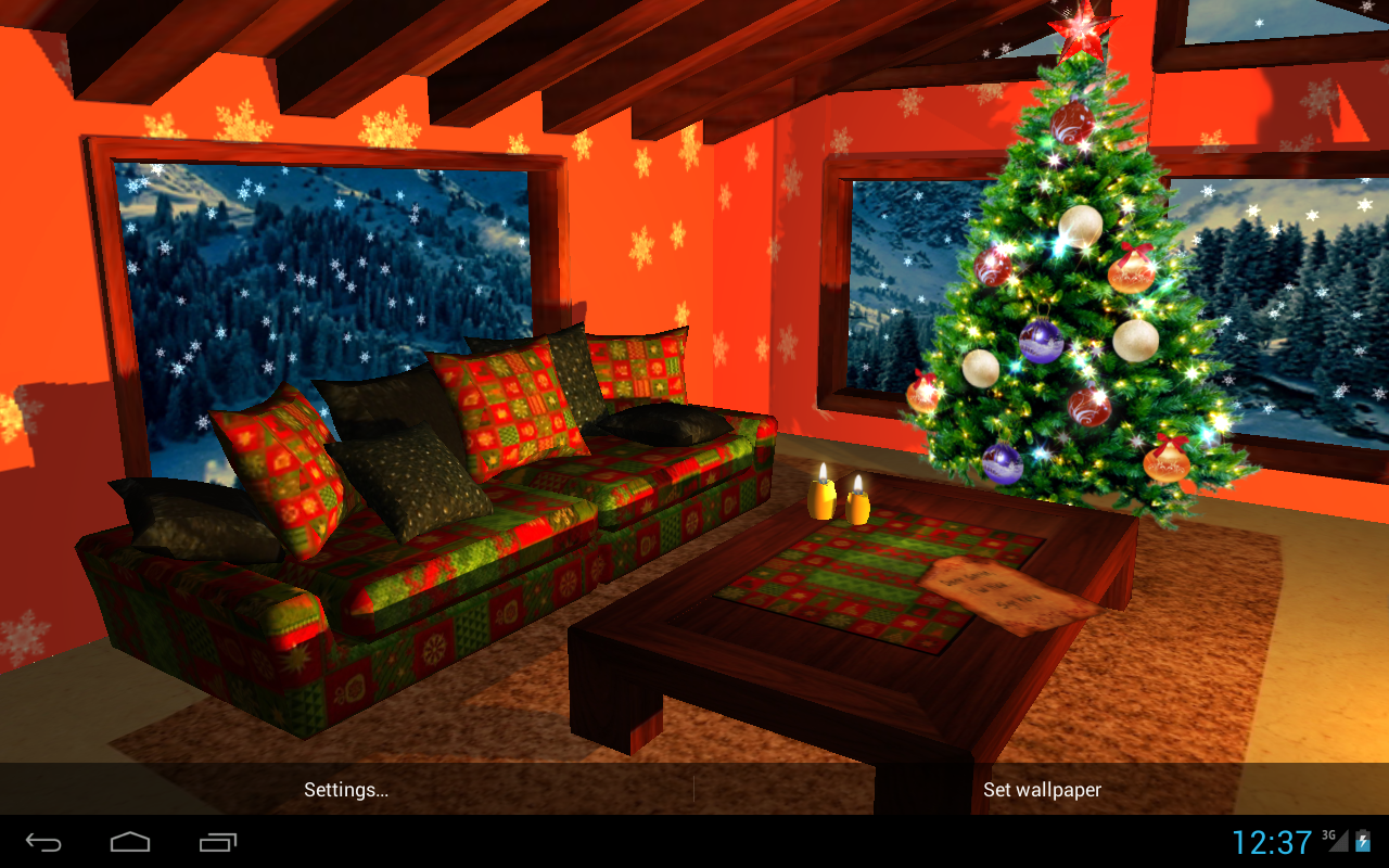3D Christmas Fireplace HD Full Screenshot 19