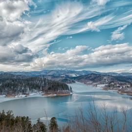 Lokve lake by Stanislav Horacek - Landscapes Mountains & Hills