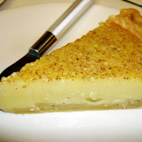 Egg Custard Pie III